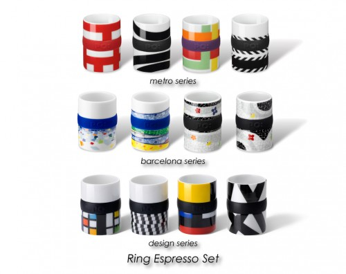 regalos originales espresso ring set