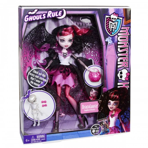 regalos originales muñecas monster high draculaura