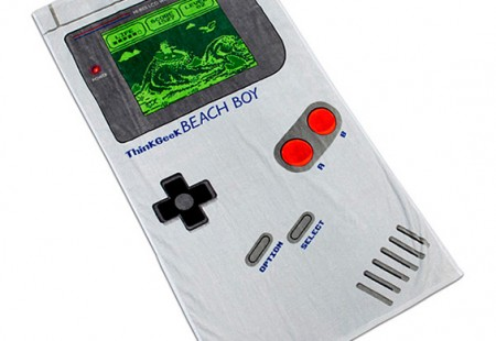 Toalla de Game Boy