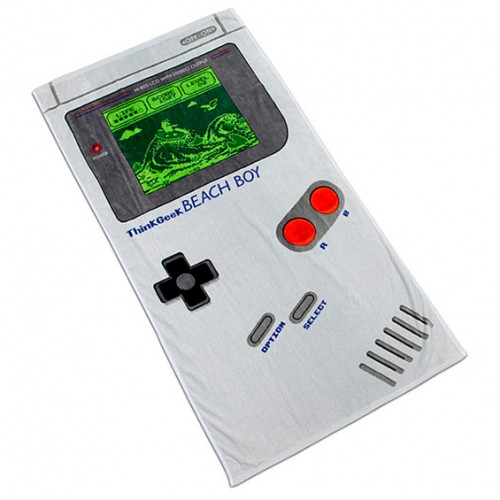 regalos originales toalla gameboy