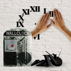 reloj de pared diy 7