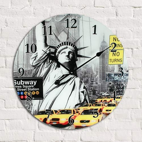 reloj de pared londres new york