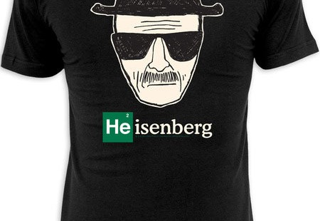 Camiseta Heisenberg de Breaking Bad