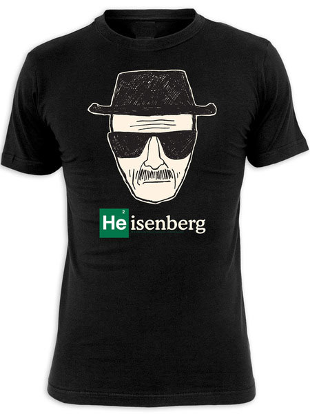 regalos originales camiseta breaking bad heisenberg