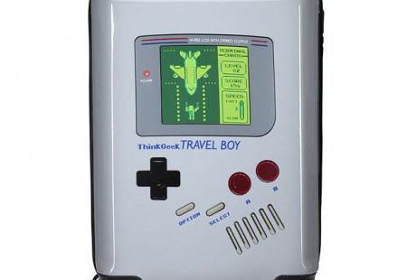 Travel Boy, la Maleta con Forma de Game Boy