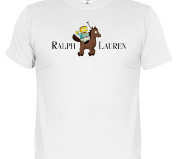 Camiseta Ralph Lauren – The Simpsons