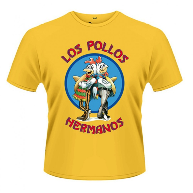 regalos originales camiseta pollos hermanos breaking bad