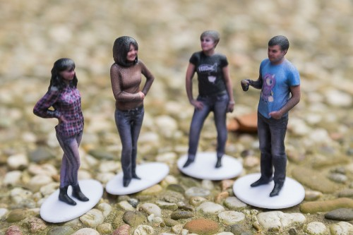 Shapify: Figura 3D con Kinetic