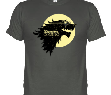Camisetas Juego de Tronos «Summer is Coming»