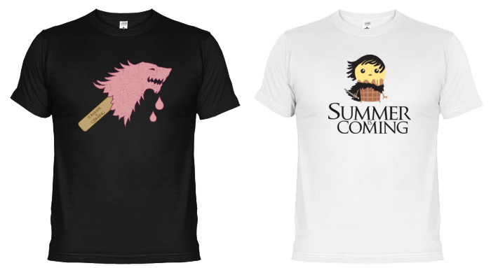 Camisetas Summer is Coming Game of Thrones