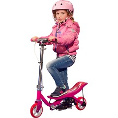 spacescooter rosa junior niña