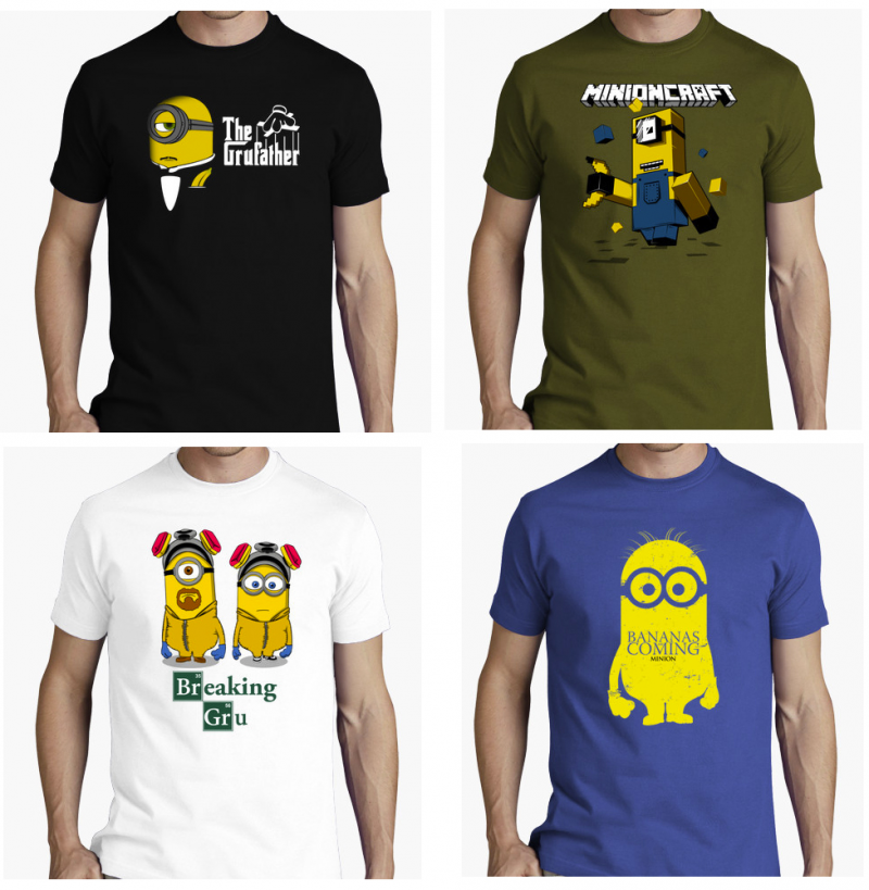 Camisetas Originales Minion