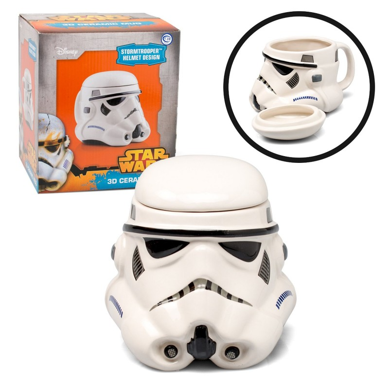 Taza Star Wars 3D StormTrooper