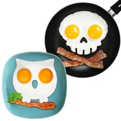 Breakfast-Kitchen-Silicone-Owl-Fried-Egg-Mold-Skull-Fried-Egg-Mold-Pancake-Mould-Funny-Kitchen-Tool