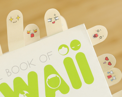 """Finger-It"" los Post It con Forma de Dedo"
