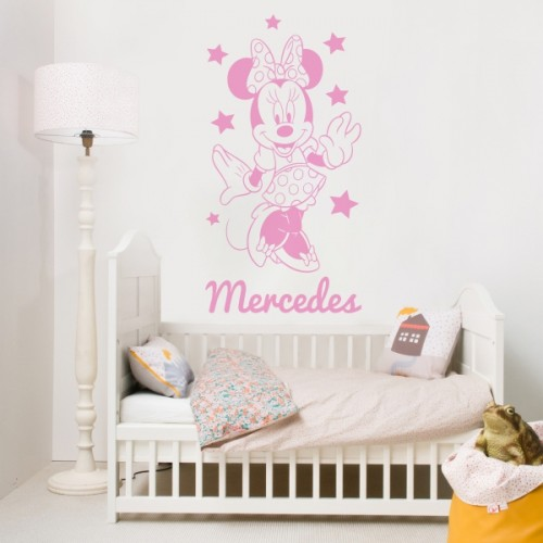 vinilo-decorativo-minnie-personalizable