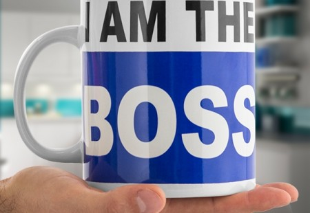 Taza tamaño XL I'm the boss