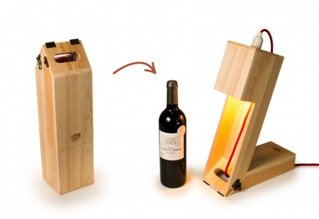 Estuches para botellas de vino montables