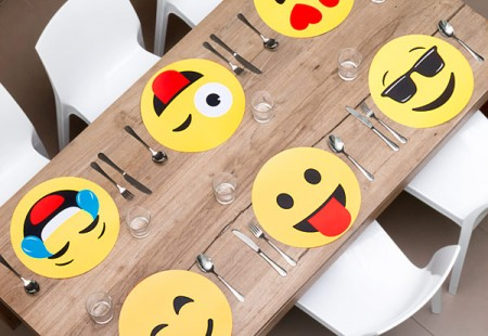 Salvamanteles Emoticono