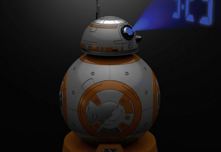 Despertador Proyector Star Wars BB-8