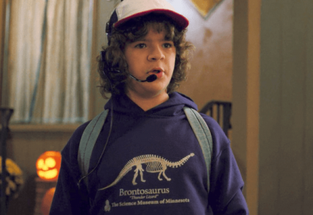 La sudadera de Dustin de Stranger Things