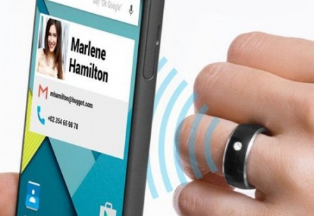 Anillo Inteligente con Chip NFC