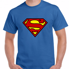 Camiseta Logo Superhéroes