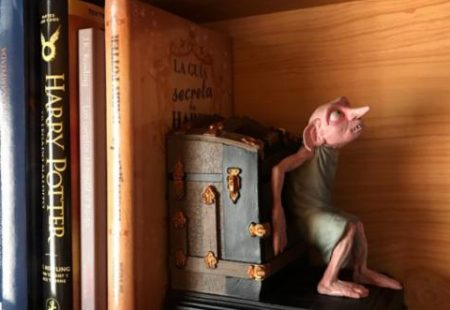 Sujetalibros Dobby Harry Potter