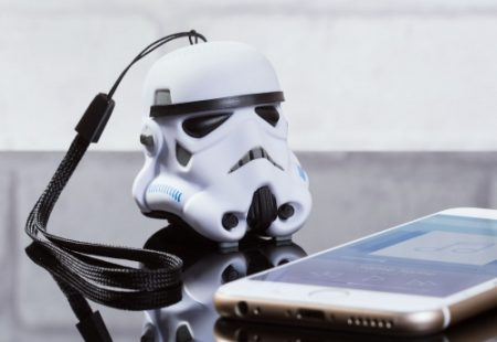 Mini Altavoz Bluetooth Stormtrooper