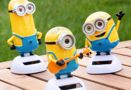 Minion Solar con Movimiento